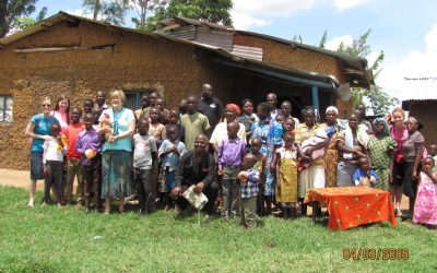 Pastor Davidson's Mt. Elgon home…Oh how we love this family and this mountain!!