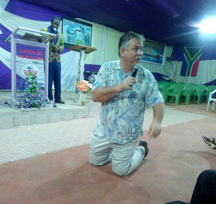 Pastor David Reeves Preaching Away