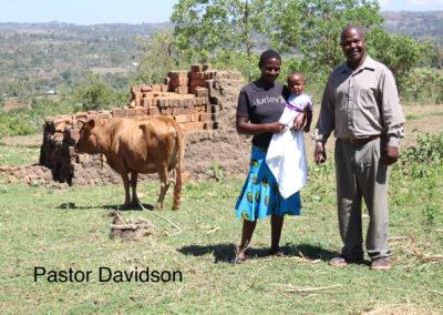 Pastor Davidson, Janarose and baby Anita