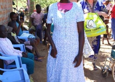 Receiving dress